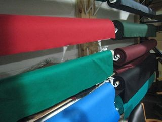 Pool table refelting, cloth colors, Greensboro North Carolina