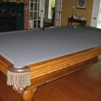 Pool Table Olhausen 4 1/2 x 9 with all Accessories
