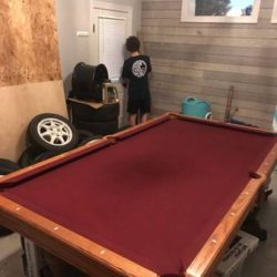 Pool Table and Ping Pong Set