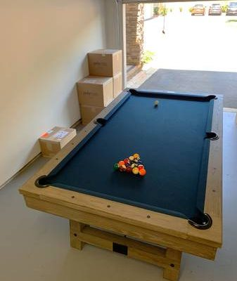 Pool Table Plank & Hide