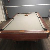 80s Championship Pool Table