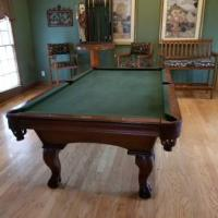 Pool Table With Game Room Furniture