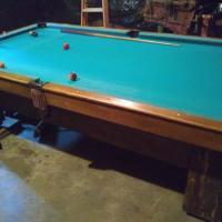 Brunswick Blake Collender Pool Table