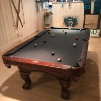 Kingdom Billiards 8 ft Pro Pool Table