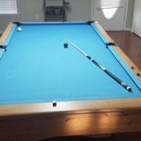 9ft Gandy Big G Pool Table