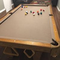 Brunswick Pool Table 12 Foot