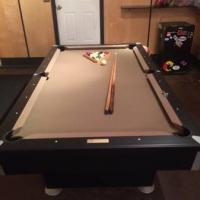 Contender by Brunswick Pool Table