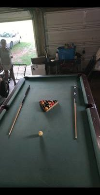 Saunier Wilhem Pool Table