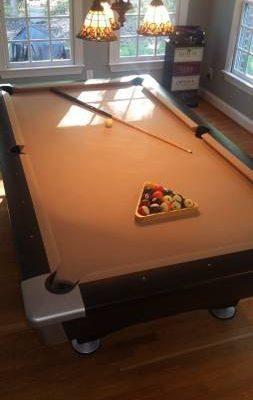 Brunswick Black Wolf Pool Table