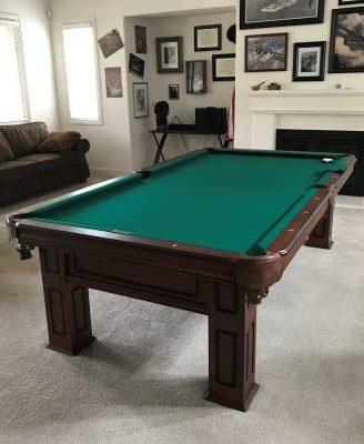 Custom 9' Pool Table