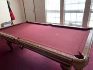 Gorgeous 8ft Gordon Taylor Pool Table