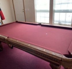 Gorgeous 8ft Gordon Taylor Pool Table