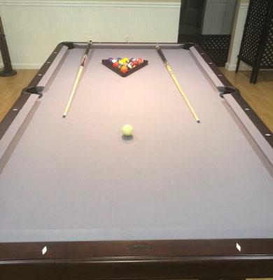 Custom Made Olhausen Pool Table with Bonus Package