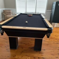 Black Connelly 8 ft Pool Table